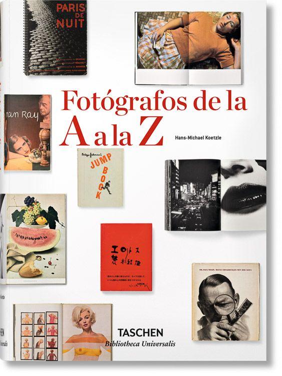 "Portada libro ""Fotógrafos de la A a la Z"""