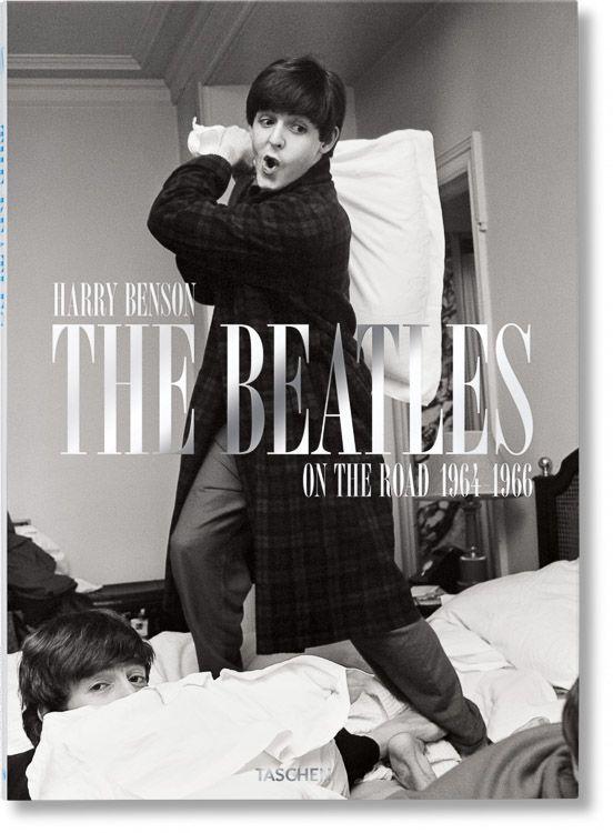 """Portada libro """"Harry Benson. The Beatles"""""""