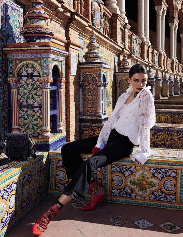 Fotografía de Miguel Reveriego para Vogue.