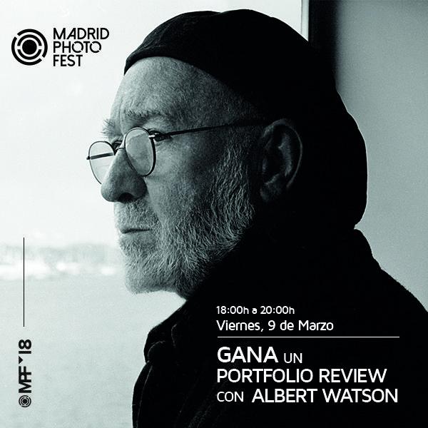 Gana un Portfolio Review con Albert Watson